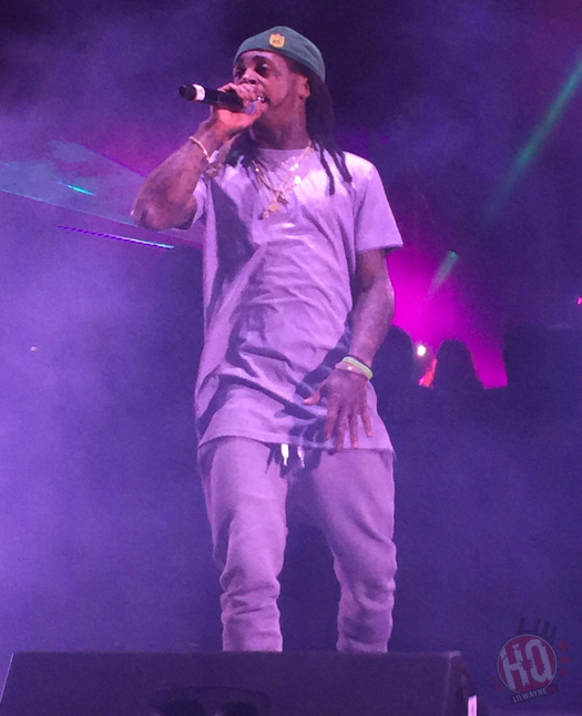 Lil Wayne Performs Live At Drexel University Fall Fest 2015 In Philadelphia