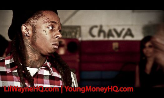 Lil Wayne Photos From The Blood Niggaz Video Shoot