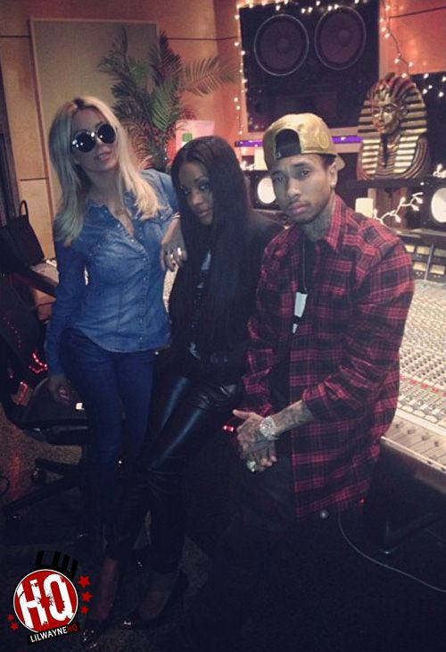 Aubrey ODay Goes Ghost-Riding The Whip With Tyga