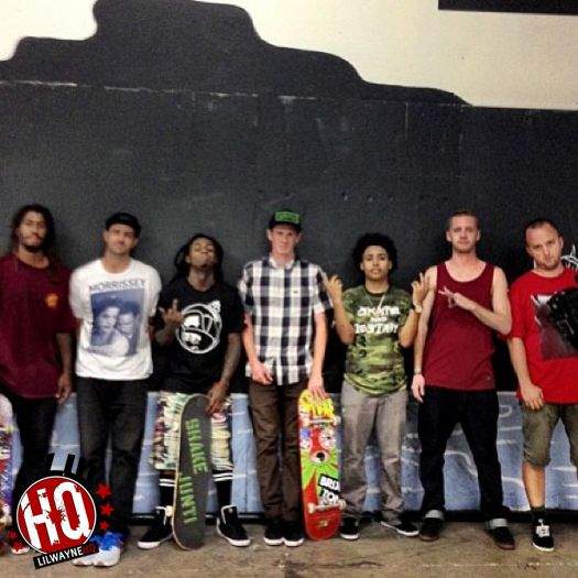 Connor Champion Discusses Lil Wayne Skateboarding, Going On Tour With Him & More