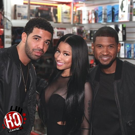Usher Discusses Drake & Confirms He Will Be Featured On His Upcoming Album