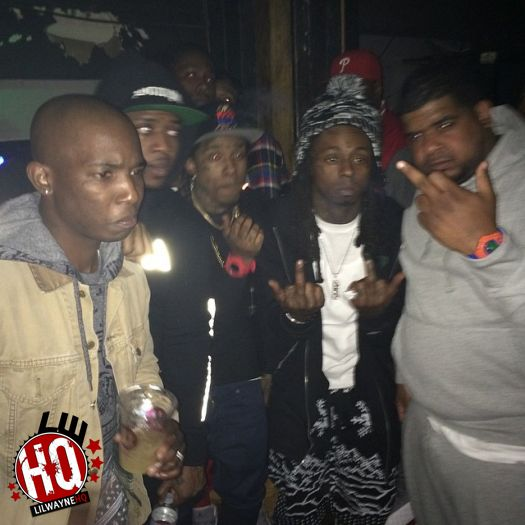 Flow Celebrates His Birthday & Thanksgiving With Lil Wayne & Mack Maine