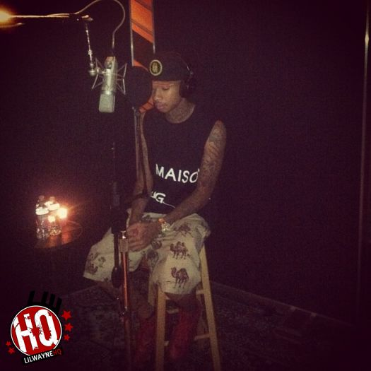 Find Out What A Studio Session Is Like With Tyga, Could Be Featured On Rihannas Album