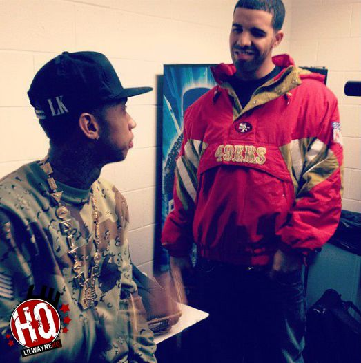 Tyga Reveals Him & Drake Squashed Their Beef Thanks To Kanye West