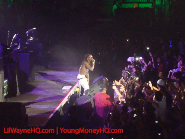 Pictures Of Lil Wayne Performing In Hildalgo Texas On The Young Money Cash Money Tour