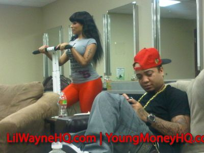 nicki minaj younger pictures. Nicki Minaj Signs With Young Money Entertainment
