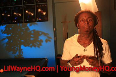 Lil Wayne Shot A Music Video In Atlanta Yesterday