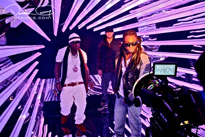 Pictures Of Birdmans 4 My Town Feat Lil Wayne & Drake Video Shoot