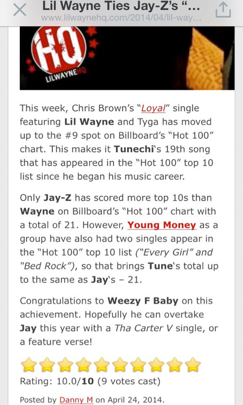 Cortez Bryant Screenshots A LilWayneHQ Article