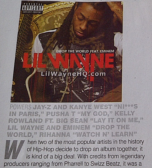 LilWayneHQ In The Source Magazine
