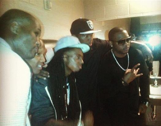 Lil Wayne & 50 Cent Beef