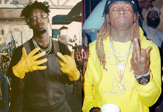 21 Savage Reveals He Listened To A Lot Of Lil Wayne While Growing Up