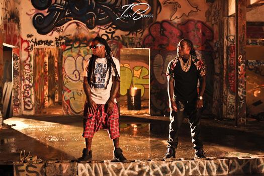 On Set Of Ace Hood & Lil Wayne We Outchea Video Shoot