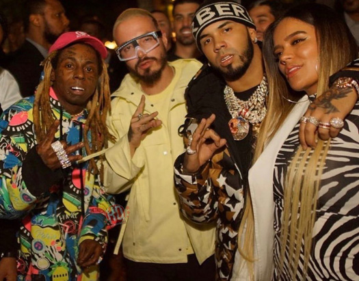 Anuel AA Announces New Ferrari Collaboration With Lil Wayne