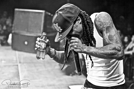 Pictures Of Lil Wayne & Young Money Performing In Atlanta