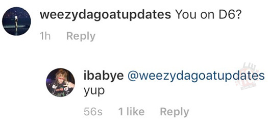 Baby E Confirms He Will Be Featured On Lil Wayne Dedication 6 Mixtape