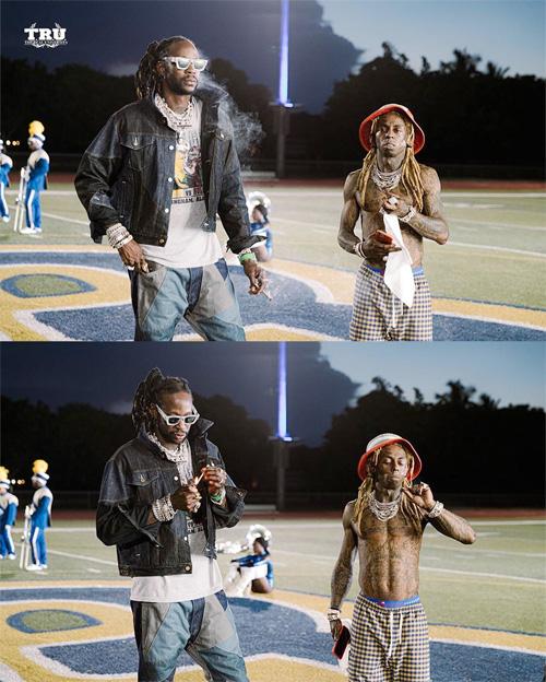Behind The Scenes Of 2 Chainz & Lil Wayne Money Maker Video