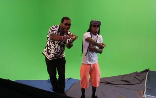 Behind The Scenes Of Busta Rhymes, Lil Wayne, Q-Tip & Kanye West Thank You Music Video