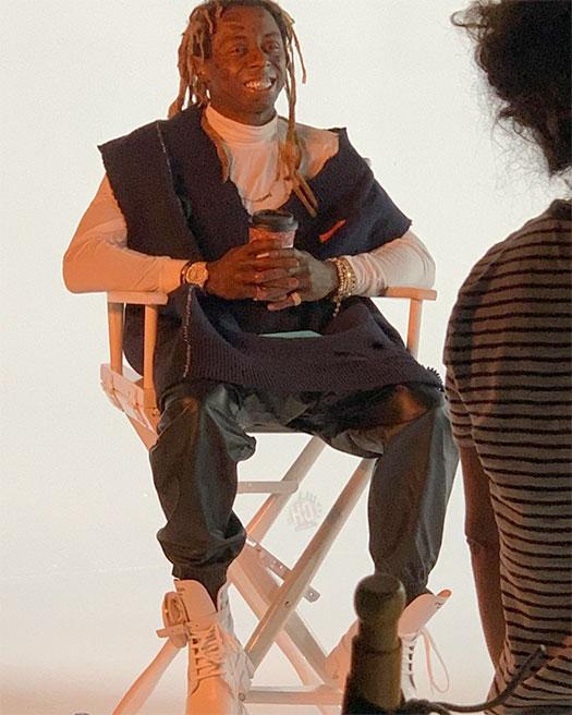 Behind The Scenes Of Calboy & Lil Wayne Miseducation Video