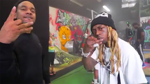 Behind The Scenes Of Euro & Lil Wayne Talk 2 Me Crazy Video