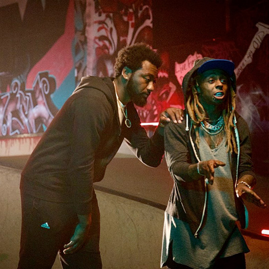 Behind The Scenes Footage Of John Wall & Lil Wayne Video Shoot