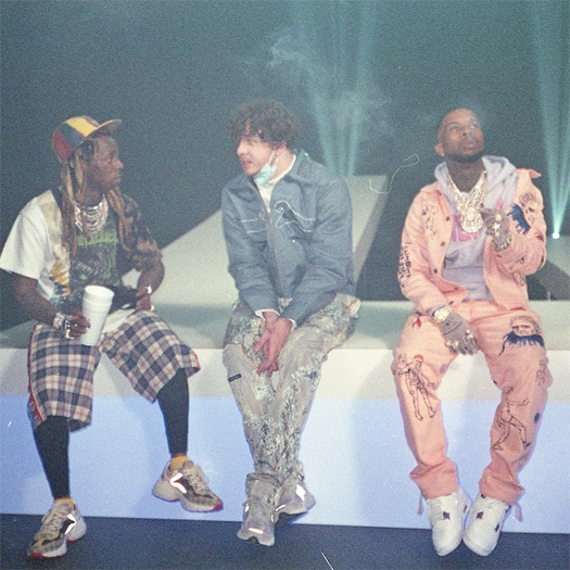 Behind The Scenes Of Jack Harlow, Lil Wayne, DaBaby & Tory Lanez Whats Poppin Video