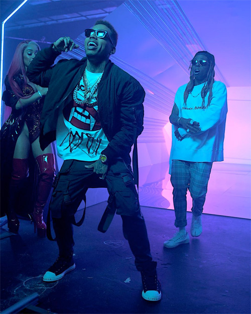 Behind The Scenes Of Kid Ink, Lil Wayne & Saweetie YUSO