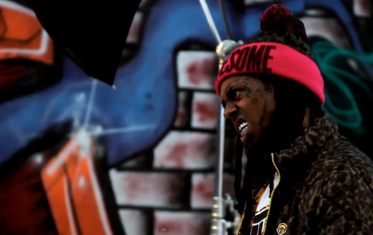 Behind The Scenes Of Lil Wayne Holiday Photo Shoot With TRUKFIT