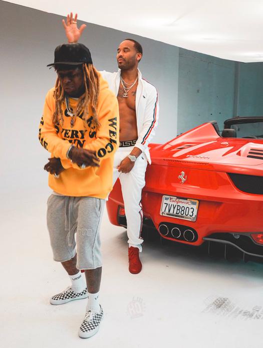 Behind The Scenes Of Lil Wayne & Preme Hot Boy Video Shoot