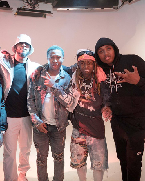 Behind The Scenes Of Lil Wayne Uproar Video Shoot In New York