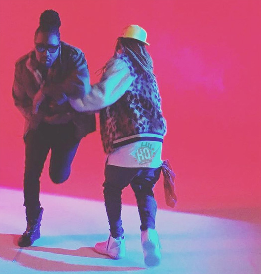 Behind The Scenes Of Wale & Lil Wayne Running Back Video