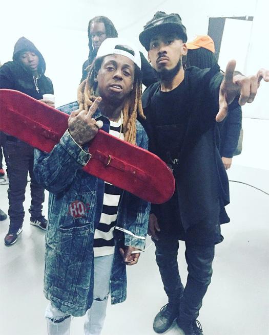 Behind The Scenes Of Wale & Lil Wayne Running Back Video