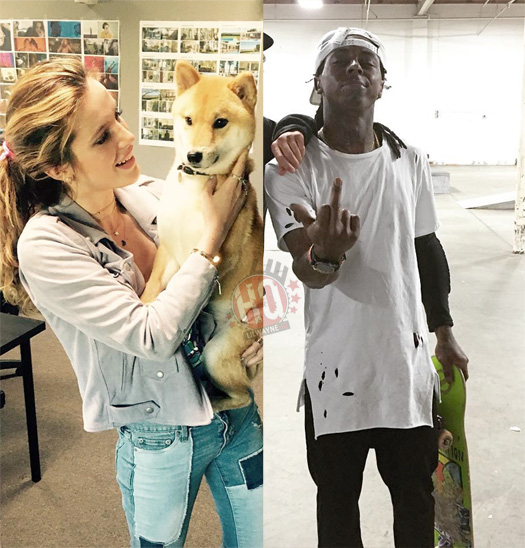 Bella Thorne Hints At Either A Collaboration With Lil Wayne Or A Tribute Song To Him
