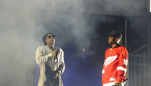 Big Sean Brings Out Lil Wayne To Perform Deep Live For The First Time In Detroit