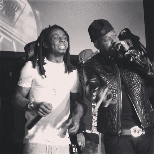 Birdman Celebrates 45th Birthday In New Orleans With Lil Wayne & Others