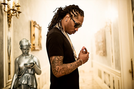 On Set Of Birdman, Lil Wayne, Future, Mack Maine & Detail Tapout Video Shoot
