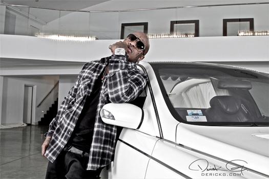 On Set Of Birdmans Y U Mad Video Shoot With Lil Wayne & Nicki Minaj