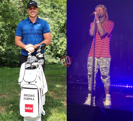 Professional Golfer Brooks Koepka Recalls The First Time He Met Lil Wayne