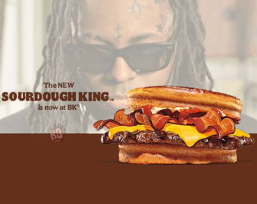 Burger King Release New Sourdough King Commercial With A Lil Wayne Song