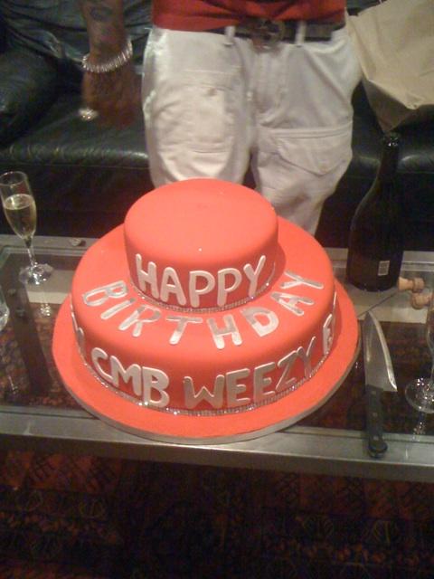 Happy 27th Birthday To Lil Wayne - Cake