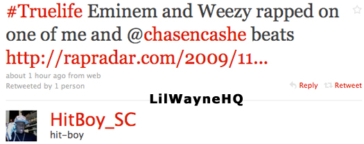 Proof Eminem Is On Lil Waynes Rebirth