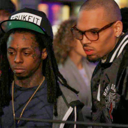 Chris Brown Calls Lil Wayne His Favorite Rapper, Yo Gotti Says Wayne Is The Biggest Realest Rapper He Knows