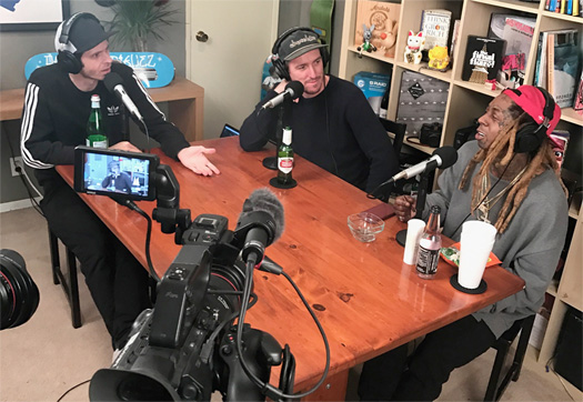 Chris Roberts & Roger Bagley From The Nine Club Talk About Having Lil Wayne As A Special Guest On Their Podcast