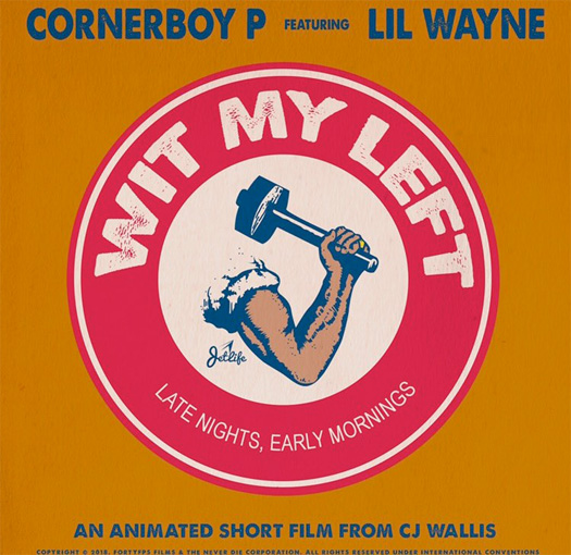 Preview Corner Boy P Wit My Left Single Featuring Lil Wayne