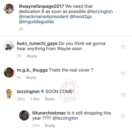 Cortez Bryant Gives A Little Update On Lil Wayne Dedication 6 Mixtape