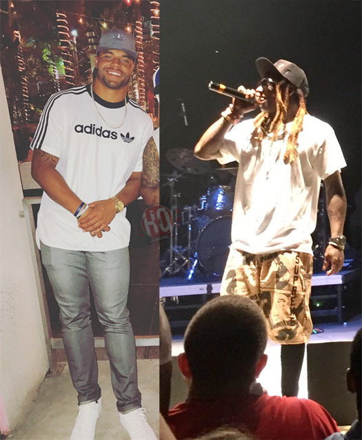 Dallas Cowboys Quarterback Dak Prescott Says Lil Wayne Is His Favorite Rapper Of All Time