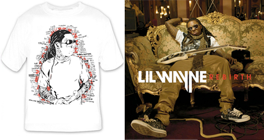 Lil Wayne Dedication 3 T-Shirts x Rebirth Lyrics x More