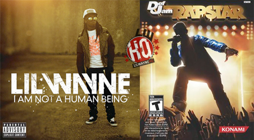Lil Wayne Packaging Album With Rapstar Video Game