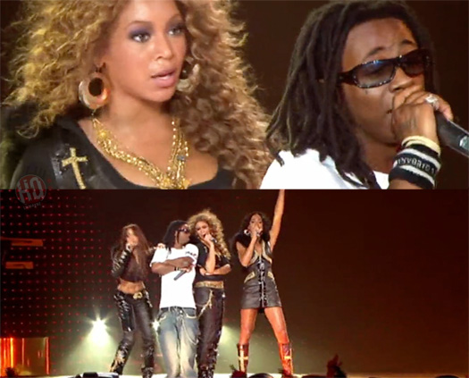 Destinys Child Bring Out Lil Wayne To Perform Soldier In Atlanta