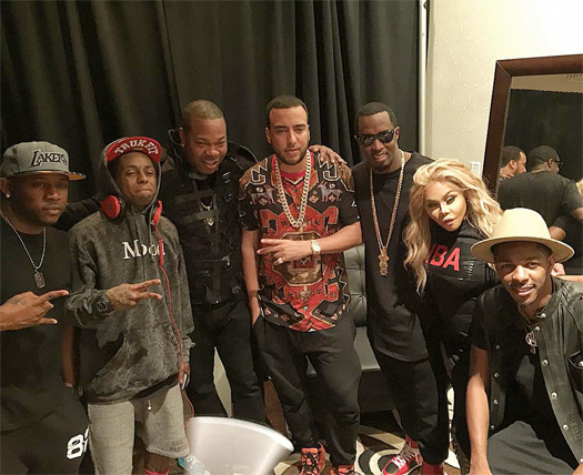 Diddy Brings Out Lil Wayne To Perform Live At His 2015 REVOLT Music Conference In Miami
